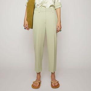 SS20 Acne Studios Pastel Green Trousers - Pristine